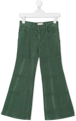 Gucci Kids flared corduroy trousers