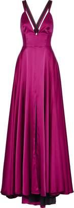 Milly Monroe Silk-blend Satin Gown