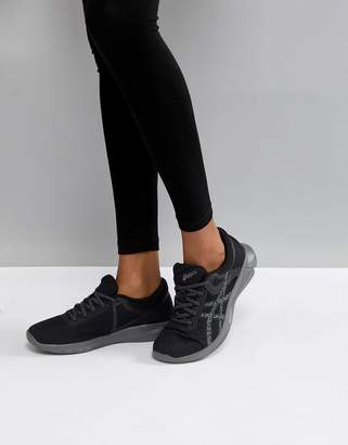 Asics Running Nitrofuze 2 Sneakers In Black