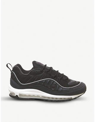 Nike 98 leather trainers