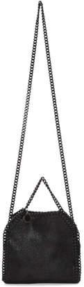 Stella McCartney Black Tonal Tiny Falabella Bag