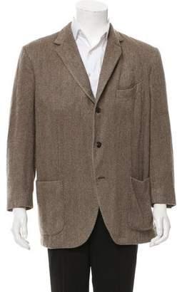 Boglioli Three-Button Cashmere Blazer