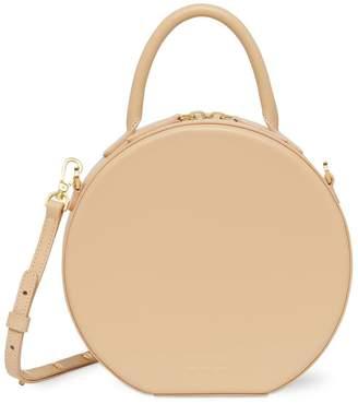 Mansur Gavriel Calf Circle Crossbody Bag in Natural