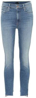 Mother Stunner Two Step Fray skinny jeans