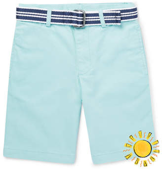 Polo Ralph Lauren Boys Ages 8 - 10 Stretch-cotton Shorts