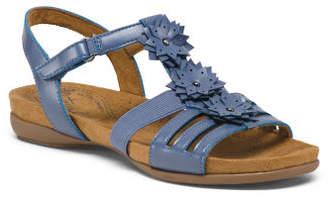 Wide Footbed Comfort Sandals