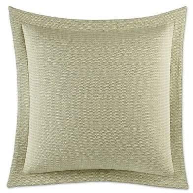 Cuba Cabana European Pillow Sham in Green