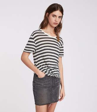 AllSaints Carme Stripe T-Shirt