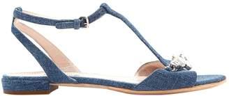 Miu Miu Cloth sandal