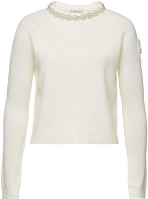 Simone Rocha Moncler Genius 4 Moncler Embellished Cashmere Pullover