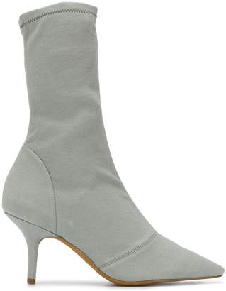 Yeezy pointed sock boots