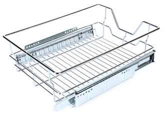 Yosoo YOSOO Pull Out Chrome Wire Storage Basket Drawer Kitchen Sliding Cabinet Organizer