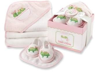 Baby Aspen Tillie the Turtle 4-Piece Bath Time Gift Set