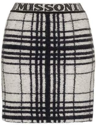 Missoni logo waistband mini skirt