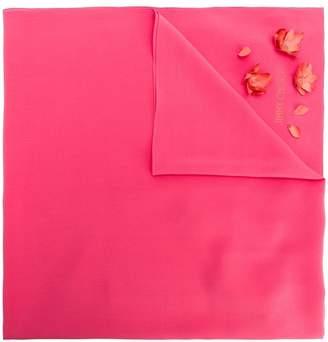 Jimmy Choo floral appliqué scarf