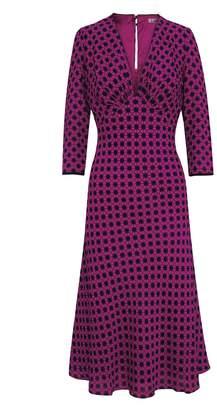 Libelula Tamara Dress Explosion Print Magenta