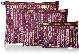 Le Sport Sac 3 Piece Travel Set Cosmetic Bag