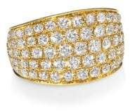 Anita Ko 18K Gold& Diamond Galaxy Ear Cuff