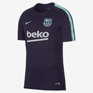Nike FC Barcelona Breathe Squad Men's Soccer Top