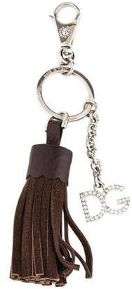 Dolce & Gabbana Tassel Logo Keychain w/ Tags