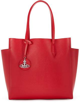 4bed6559de Vivienne Westwood Rachel Red Leather Tote