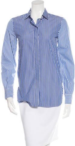 CelineCéline Striped Button-Up Top