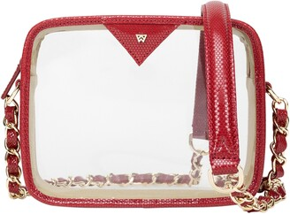 clear Kelly Wynne Mingle Mingle Mini Crossbody Bag