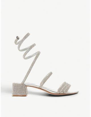 Dune Micka diamante ankle strap sandals