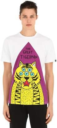 Hydrogen Tigerman Cotton T-Shirt