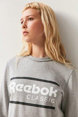 Reebok Iconic Crew Neck Sweatshirt $50 thestylecure.com