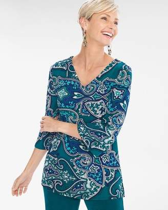 Of the Moment Travelers Classic Paisley Tunic