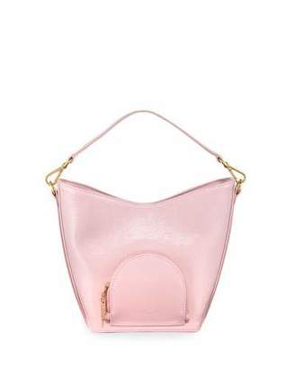 Complet Eva Mini Soft Leather Bucket Bag, Pink