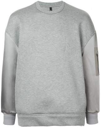 Neil Barrett arrow embroidered sweatshirt