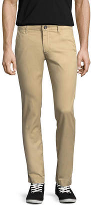 Arizona Skinny Fit Flat Front Pants