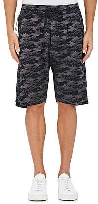 Nlst Men's Camouflage Jacquard Basketball Shorts