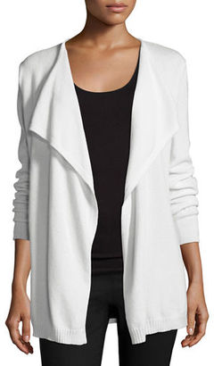 Neiman Marcus Cashmere Collection Lulu Cashmere Anorak Sweater $295 thestylecure.com