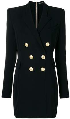 Balmain double-breasted suit dress