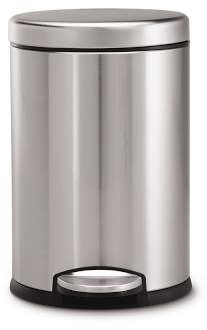 Williams-Sonoma Williams Sonoma simplehumanTM; Round Step Can, Brushed Stainless-Steel