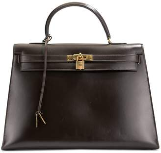 Hermes Pre-Owned 1977s Kelly Sellier 35 tote