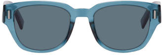 Christian Dior Blue DiorFraction3 Sunglasses