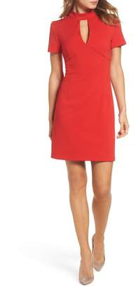 Trina Turk trina Camari Choker Collar Sheath Dress