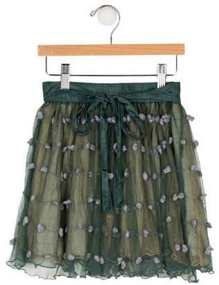 Caramel Baby & Child Girls' Silk Skirt