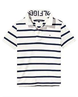 Tommy Hilfiger Ame Yarn Dye Stripe Polo S/S ( Boys 8-14 Years )