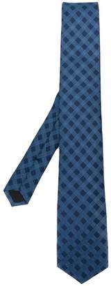 HUGO BOSS check print tie