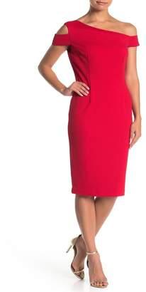Trina Turk trina Enchantment Off-the-Shoulder Sheath Dress