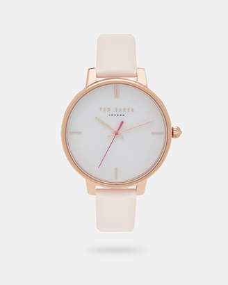 Ted Baker KATYIA Pearl dial leather strap watch
