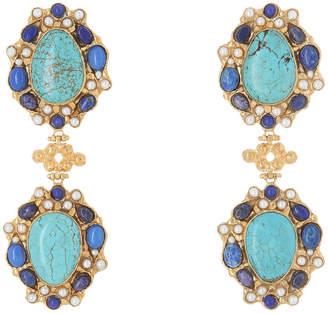 Carlotta Earrings Turquoise