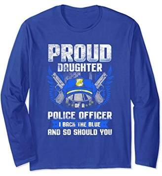DAY Birger et Mikkelsen Police Fathers Shirt Thin Blue Line Daughter Long Sleeve