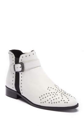 Kenneth Cole Reaction Date Nite Western Leather Stud Bootie