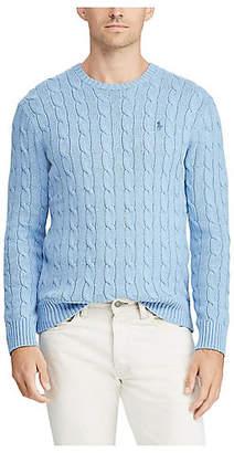Polo Ralph Lauren (ポロ ラルフ ローレン) - [POLO RALPH LAUREN(メンズ)] ケーブルニット コットン セーター